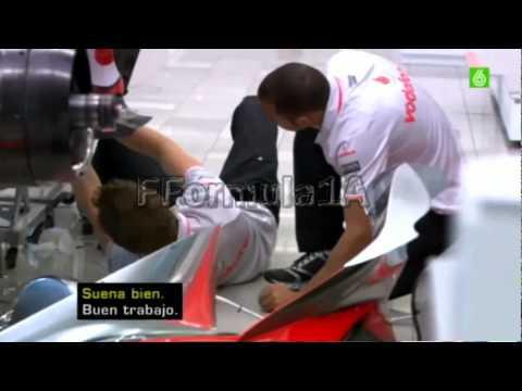Lewis Hamilton Jenson Button they are mechanics