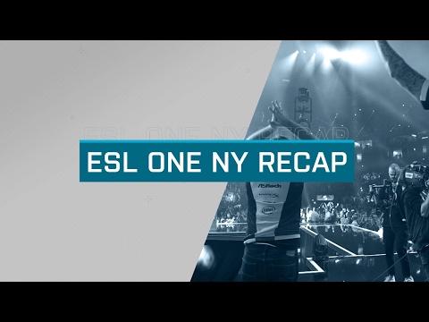 ESL One New York 2016 Recap