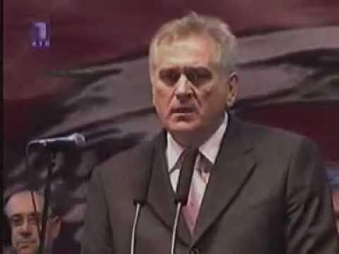 Tomislav Nikolić o Kosovu i Metohiji 2008-me