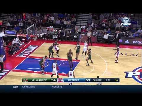 Kentavious Caldwell-Pope vs. Bucks: 19 points, 5 rebounds, 7-11 FG