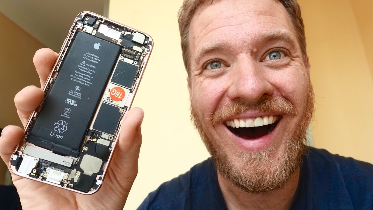 [Could You Build An iPhone From Spare Parts?] Video