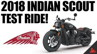 2018 Indian Scout Test Ride!