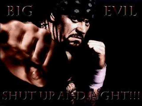 The Undertaker's Big Evil Theme Song video
