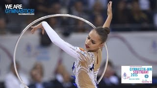 Margarita MAMUN (RUS) 2015 Rhythmic Worlds Stuttgart - Qualifications Hoop