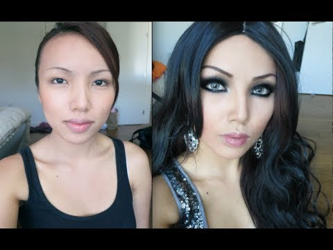 Haifa Wehbe Make-up Transformation !!!