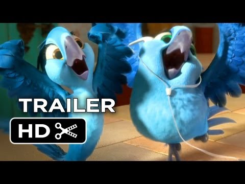 Rio 2 Official Trailer #1 2014 Jamie Foxx Animated Sequel HD