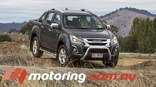 2017 Isuzu D-MAX 2017 Review | motoring.com.au