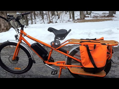 Ride Report Used Radwagon Family Cargo Electric Assist Bike 1st Long Ride