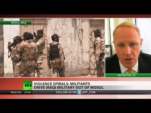 Iraqi jihadists take over Mosul
