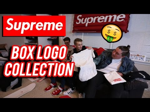 OUR CRAZY SUPREME BOX LOGO COLLECTION