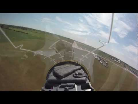 Big Blue RC Jet @ Chatham air show with GoPro on board