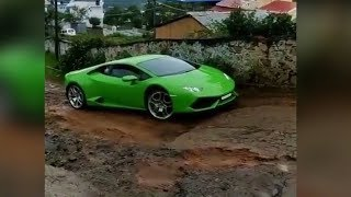 Lamborghini Vs Bad Roads | Supercars | Billionaires Toys