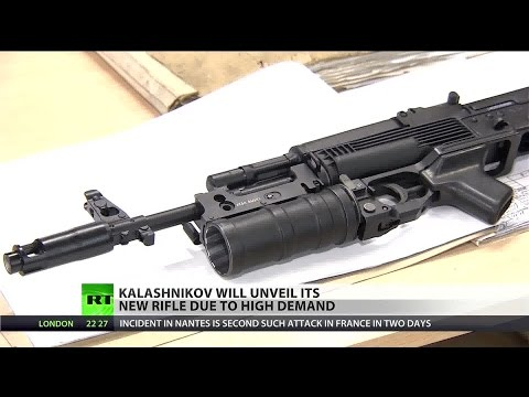 US sanctions drive AK-47 maker to create new rifle