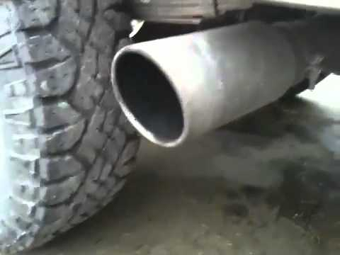 1989 F350 7.3 IDI Custom Intake and Exhaust