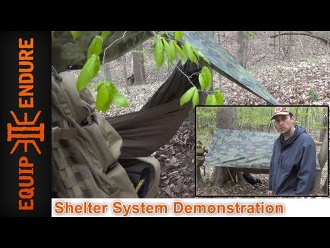 Shelter System with the Appalachian Hammock Part 2 by Equip 2 Endure