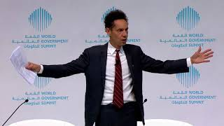 The Future of Humanity, Malcolm Gladwell - WGS 2018