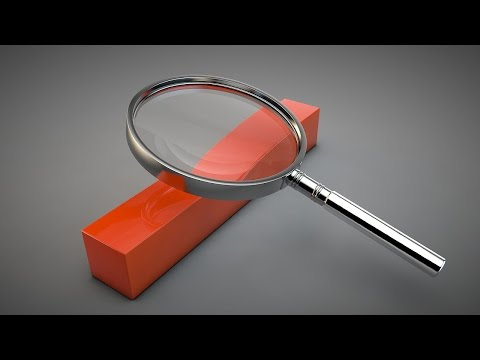 [Tutorial] Model a Magnifying Glass In Cinema 4d