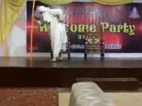 Welcome Party of Punjab college Wazirabad 04 Nov 2013.......Drama Skit