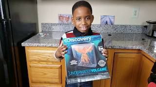 Liam Does: The Discovery Underwater Volcano kit...a step by step video tutorial