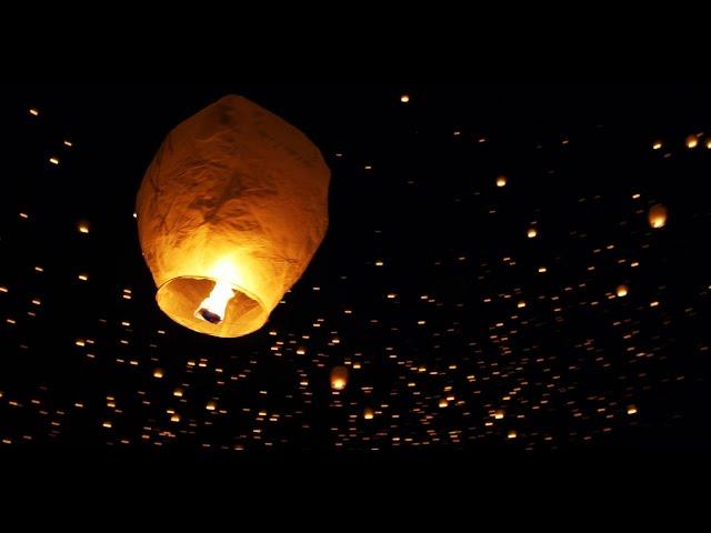 Tangled in Real Life - Lantern Fest in 4K