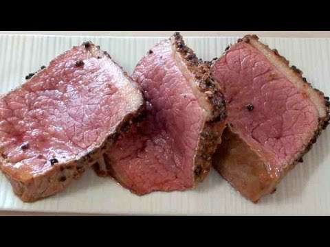 EASY 'PEPPER' ROAST BEEF – VIDEO RECIPE