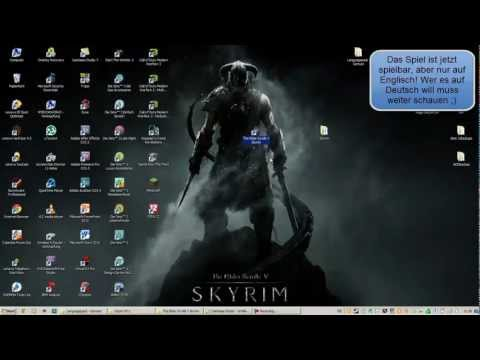 How to install The Elder Scrolls V Skyrim - Razor1911 (Language - Pack) german/deutsch