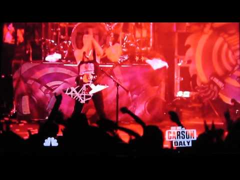"Pierce The Veil on ""last call with Carson Daly"" Part 1."