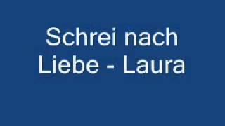 Watch Laura Schrei Nach Liebe video