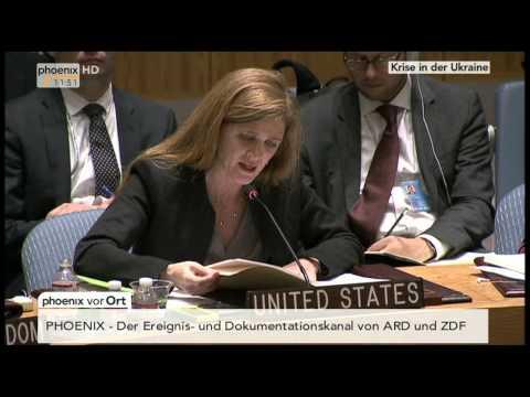 Ukraine-Krise: Sondersitzung des UN-Sicherheitsrates am 13.04.2014