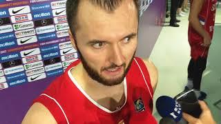Milan Mačvan posle poraza u finalu #EuroBasket2017