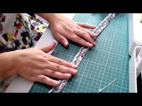 como hacer una cortina drapeada o cenefa, como instalar la cortina