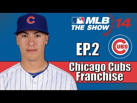 MLB 14 The Show- Chicago Cubs Franchise- 2014 Draft & Trade Deadline (Ep.2)
