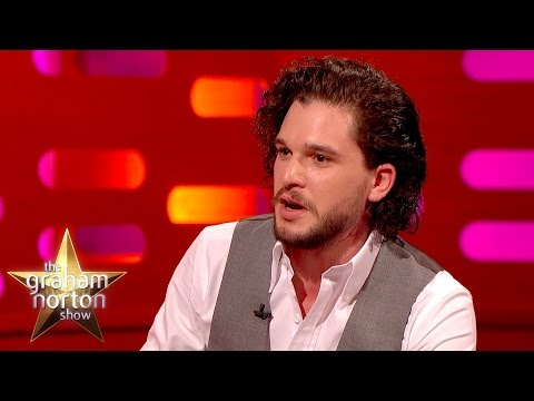 Kit Harington Caught Off Guard In London - The Graham Norton Show