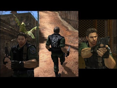 Resident evil 5 Mod Chris Redfield Code Veronica (REUPLOAD) + Download