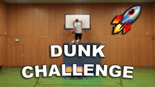 BASKETBALL TRAMPOLIN DUNK CHALLENGE MIT DEN BROTATOS!!!