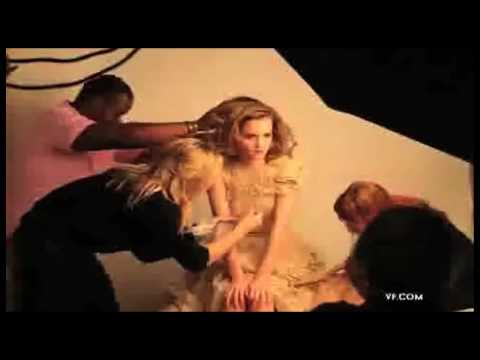 HD - Emma Watson Vanity Fair - Behind The Scenes