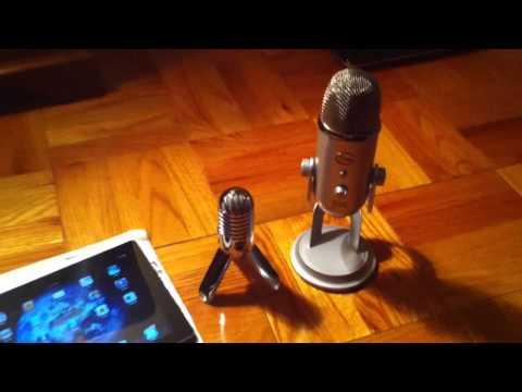 Samson Meteor USB Microphone and the IPad 2