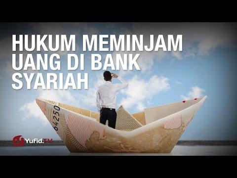 Tanya Jawab: Hukum Meminjam Uang di Bank Syariah - Ustadz Dr. Syafiq Riza Basalamah, M.A