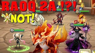 Summoners War - It was supposed to be 2A RAOQ's guild war debut, but ...