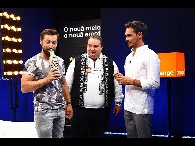 Adrian Sălăgean şi a lui pălincă au venit la X Factor din inima Ardealului!