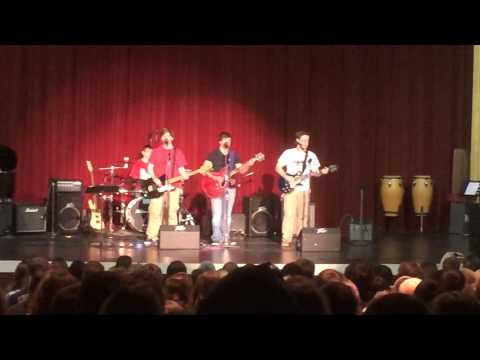 Foo 182  - Stacy's Mom Full Band Cover  - Tennessee High School Talent Show 2014