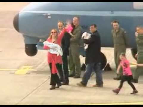 Irish Air Corps CASA CN-235 Air Ambulance Brings Cork Twins Home