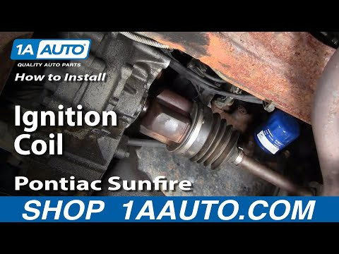 How To Install Replace Ignition Coil Chevy Cavalier Pontiac Sunfire 95-02 1AAuto.com