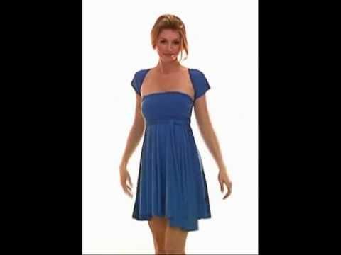 Wrap Magic Skirts Dress Mult Wear Convertible Dress EV500
