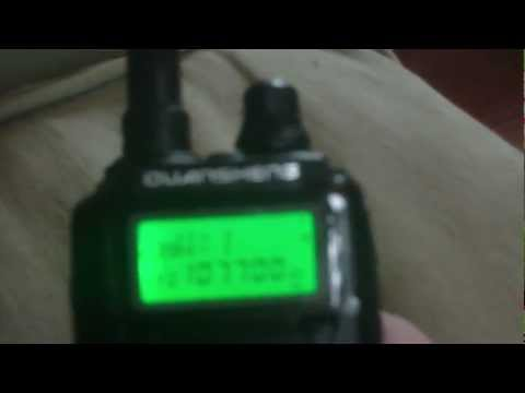 Quansheng TG-UV2 (CRT 2FP) FM Broadcast Band Reception Test (88.0 to 108.0 MHz WFM)