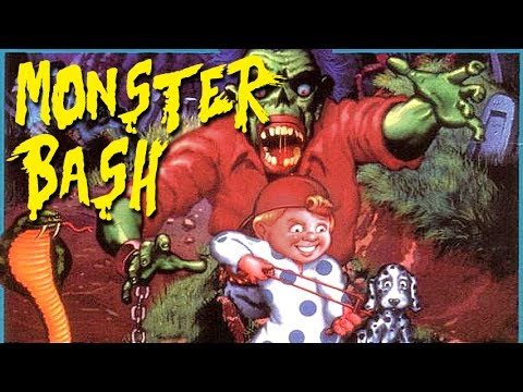 LGR - Monster Bash - DOS PC Game Review