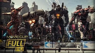 Battle of Tokyo|Jaeger Fleet vs Four Kaiju|Pacific Rim Uprising