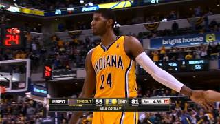Paul George's Showtime Reverse Dunk on the Breakaway