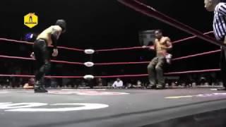 Flamita vs AR Fox, Campeonato Crucero The Crash