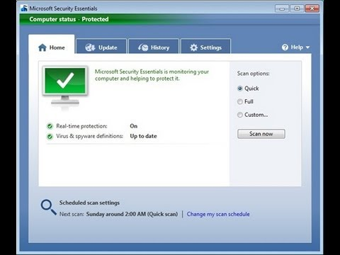 Fix: Remove Microsoft Security Essentials When It's Corrupt